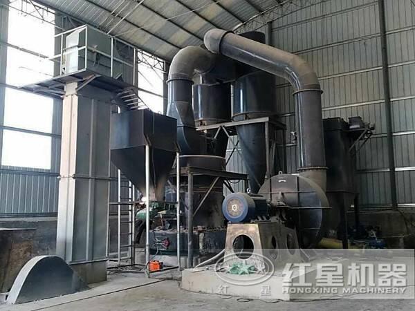 河南洛阳煤粉制备项目现场