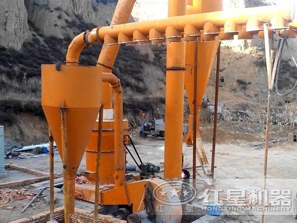红柱石磨粉生产线