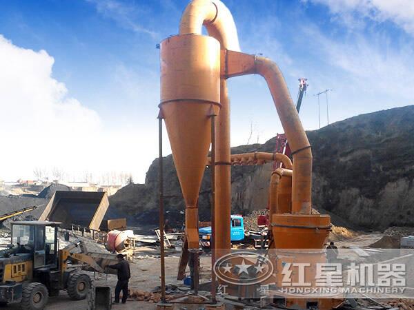 日产500吨方解石磨粉生产线现场