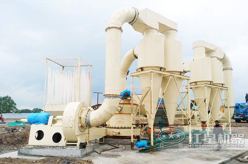 石灰石磨粉生产线工艺
