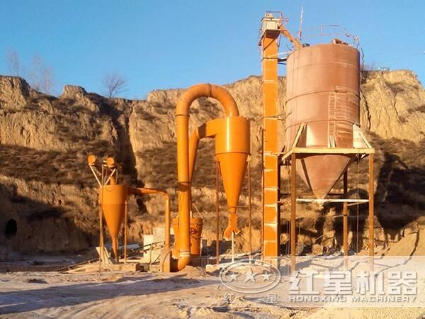 红柱石磨粉生产线设备