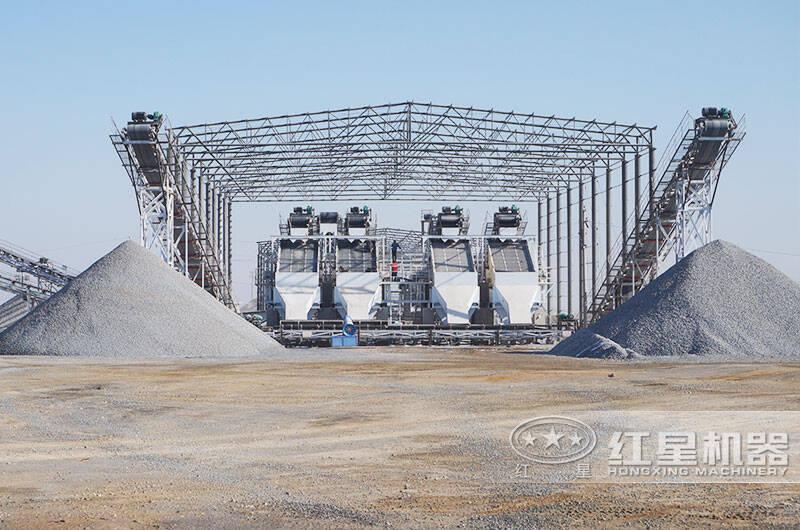 日产6000方石子生产线客户案例-成品