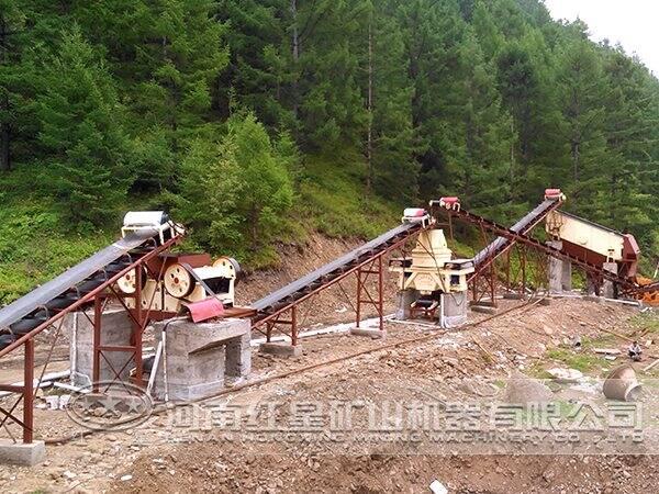 玄武岩制砂生产线