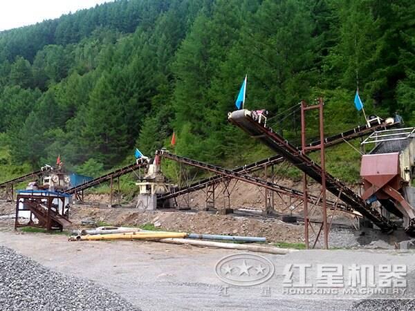 新型环保生态制砂生产线
