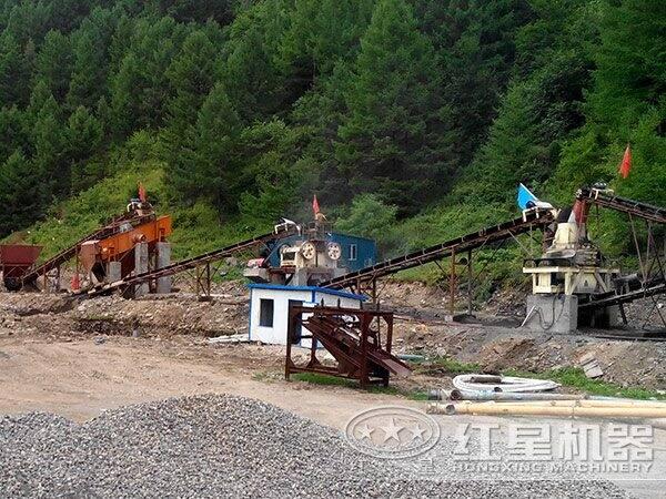 科学配备砂石生产线案例