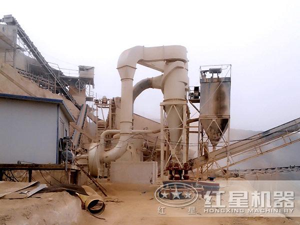 火山岩磨粉生产线