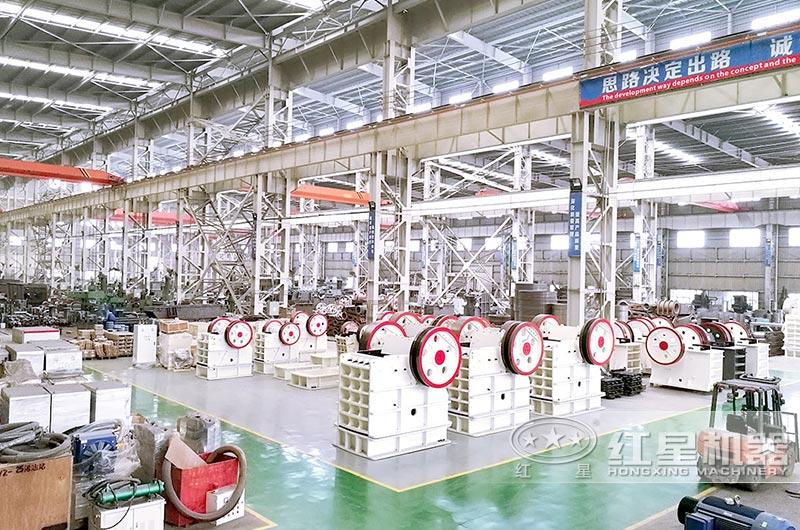 河南石子加工机器生产车间
