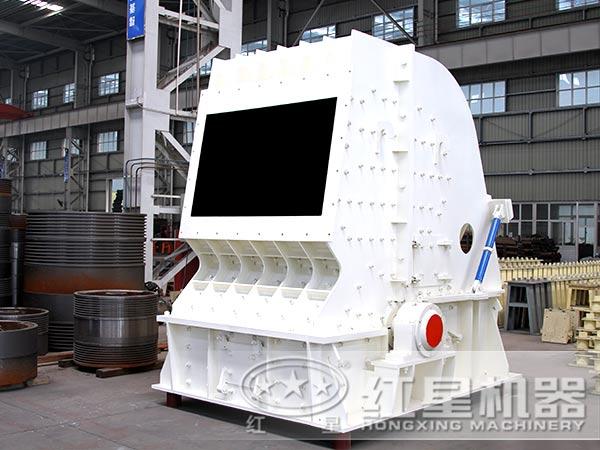 时产420吨反击式粉石子机