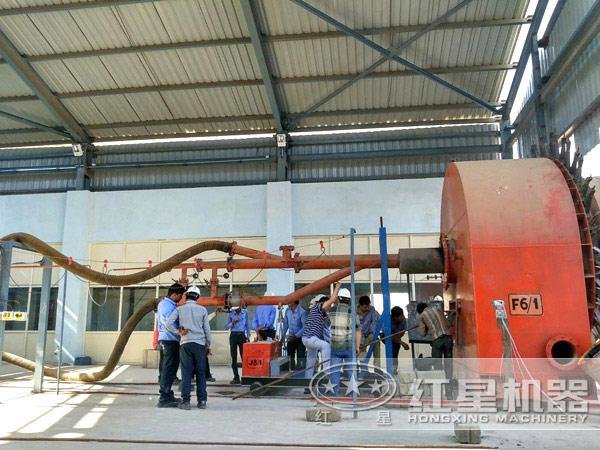 新型水泥生产线在巴基斯坦