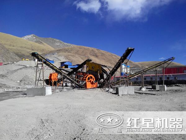 湿法制砂生产线现场