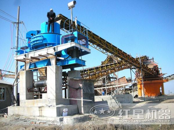 砂石生产线投资