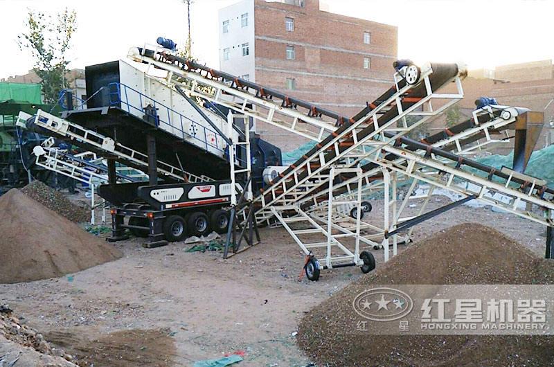 河南郑州建筑垃圾破碎处理项目