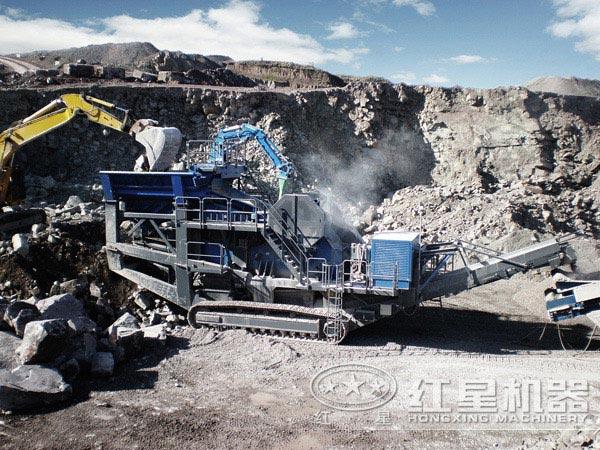 菲律宾某煤矿开采破碎项目现场