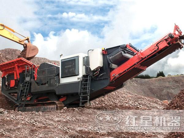 日产2000方移动式建筑垃圾再生石料生产线工艺配置