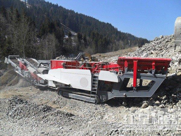河南三门峡煤矸石破碎加工项目