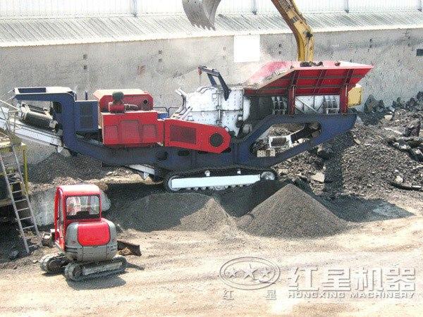 上海建筑垃圾处理项目现场