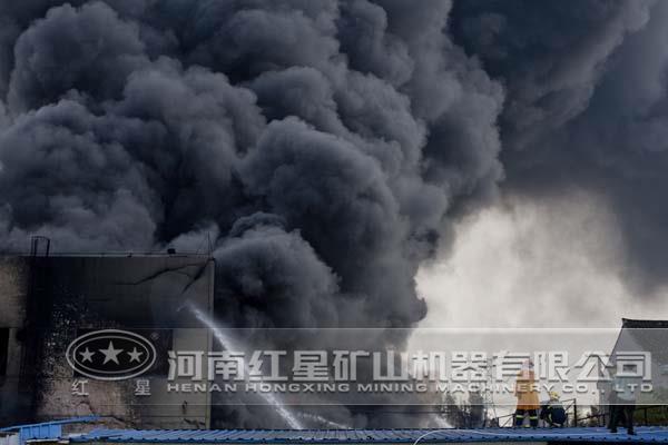 雷蒙磨粉机粉尘爆炸图片