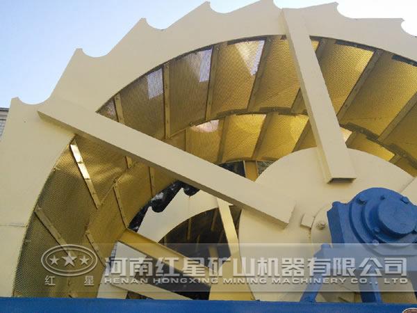 节能的洗砂机结构