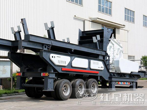 移动式煤矸石破碎机
