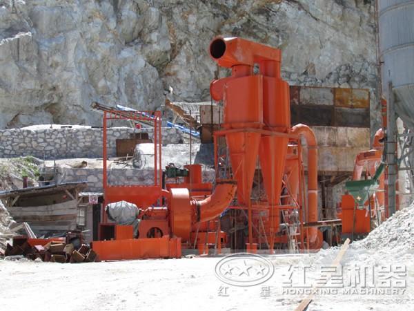 方英石磨粉生产线