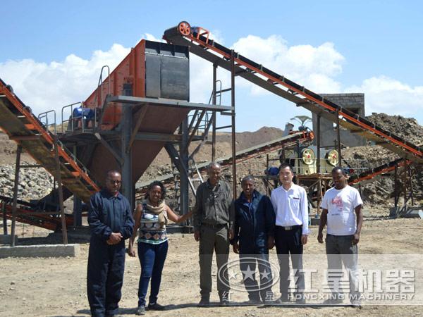 时产420吨反击式粉石子机售后服务