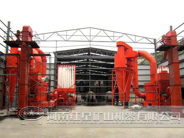 年产30万t矿渣微粉生产工艺设计