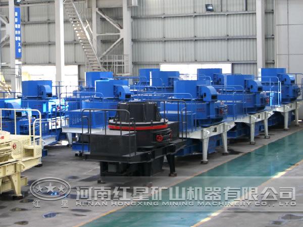 时产250吨中速制沙机