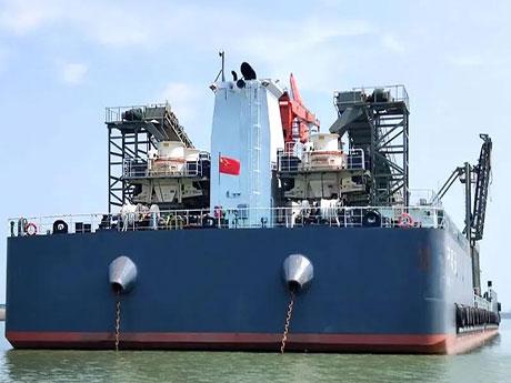 湖南大型船载砂石厂_水上制砂生产线设备配置及流程