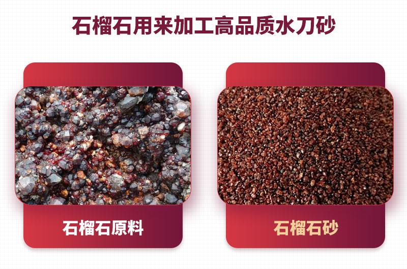 石榴石生产水刀砂