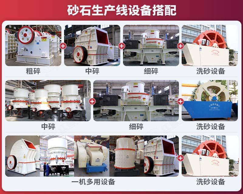 砂石生产线设备搭配