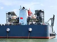 湖南水上机制砂生产巨轮,投产试运行!附现场视频