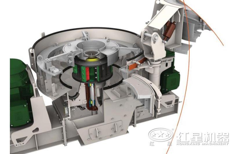 VSIA7制砂机结构内芯设计