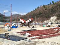 时产120吨的砂石生产线设备价格、安装费和基础费多少?