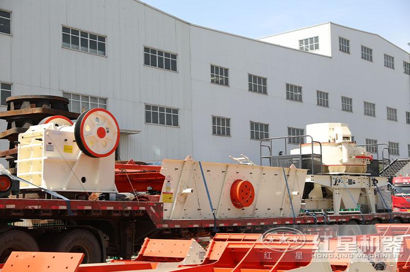 砂石生产线设备发货