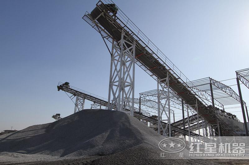 大型碎煤作业基地